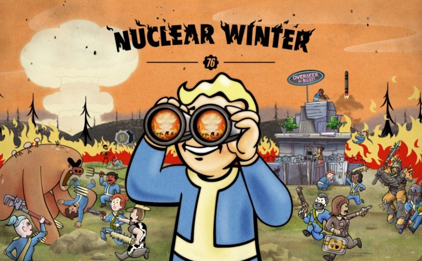 Bathe in the Fires of Radiation- Thoughts on Fallout 76 NuclearWinter