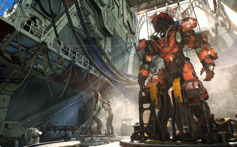 New Anthem Update Today and Dev Video StreamTomorrow