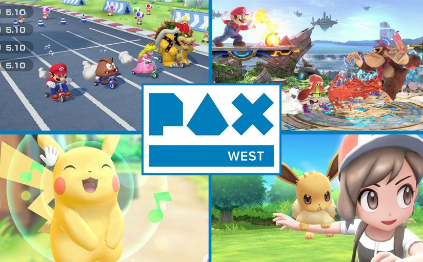 You'll be able to play some unreleased Nintendo Switch games at PAX2018