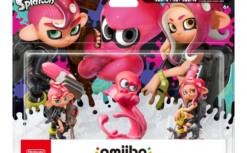 The Octoling Boy, Girl, & Octopus Splatoon 2 amiibo Receive Release Dates!