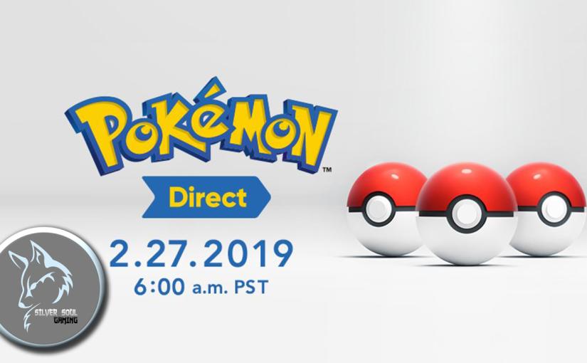 A New Pokemon Direct's HappeningTomorrow!