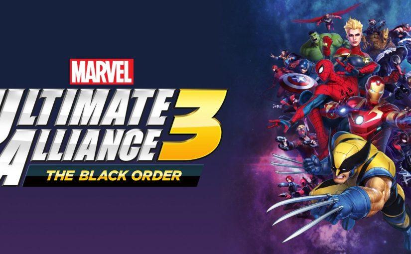 Review of Marvel Ultimate Alliance 3: The Black Order — Back inblack