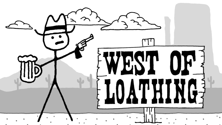 Silver's Review of Asymmetric's Stick Figure RPG West ofLoathing