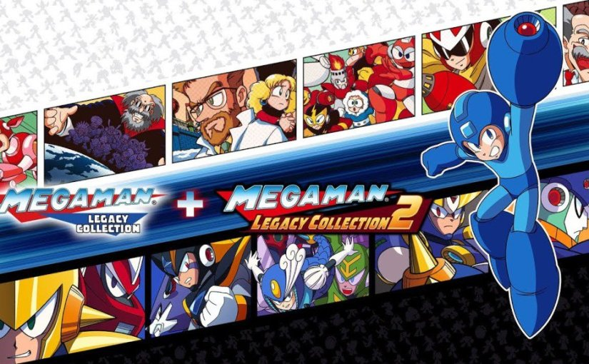 Mega Man Legacy Collection 1 + 2 Arrives  on May 22nd For The NintendoSwitch!