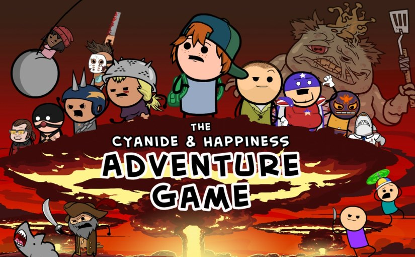 Cyanide & Happiness is Creating a Video Game After Successful Kickstarter!