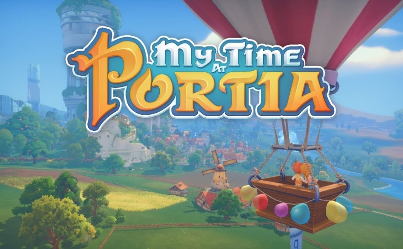 My Time At Portia Comes ToConsoles!