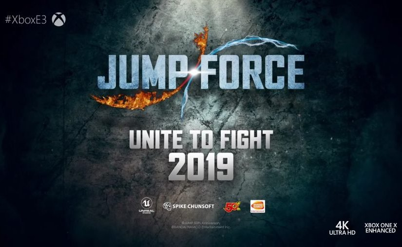 JUMP FORCE Revealed At Xbox's E3 2018 Briefing Event!
