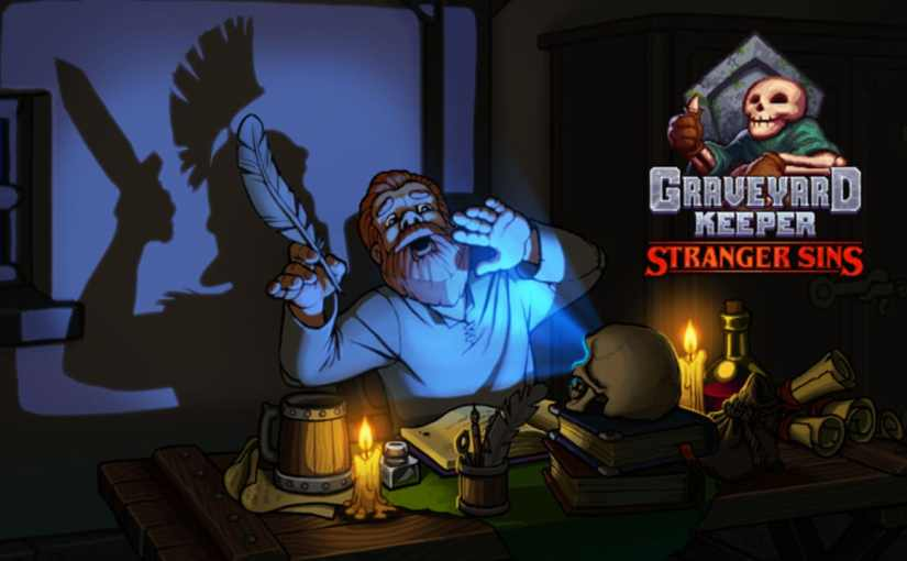 Graveyard Keeper DLC Stranger SinsReleases